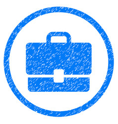 Case rounded grainy icon vector
