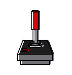 console joystick videogame vector image vector image