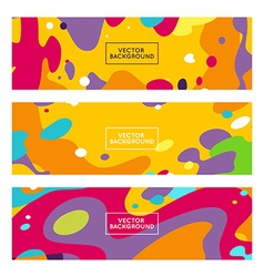decorative abstract backgrounds vector image