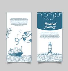 leaflet reefer forward vector image