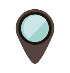 location pin icon vector image