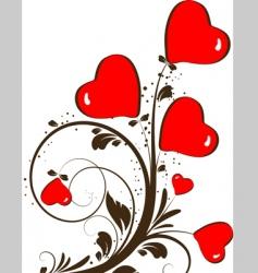 st valentine theme vector image