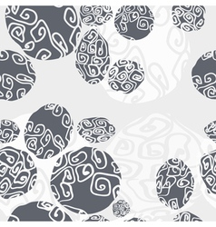Seamless pattern with beautilul stones vector