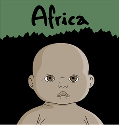 African child vector