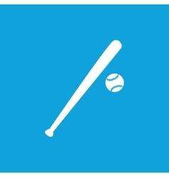 Baseball icon 3 simple vector image vector image