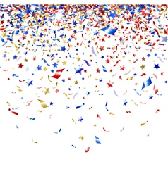 Colored confetti vector