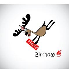 Happy Birthday to one vector image vector image