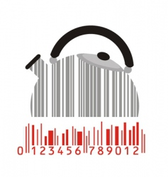Maker and barcode vector