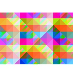Abstract geometric background with colorful tiles vector