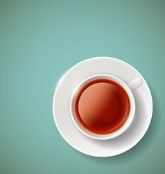 red tea Stock vector image