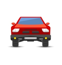 Car pickup truck vechicle transport isolated on vector