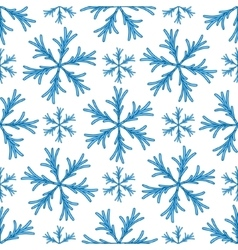 Falling snow seamless pattern white splash vector
