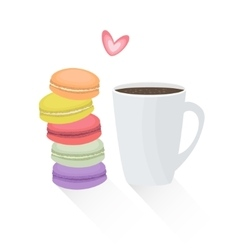 French cookie vector
