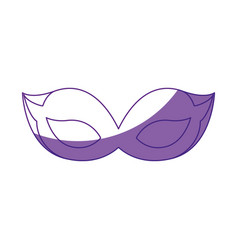 Mask cute accessory vector