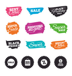 sale speech bubble icon discount star symbol vector image