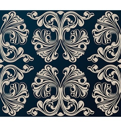 Seamless background Medieval Ornament vector image vector image