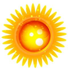 Sun logo vector