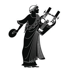 Ancient greek god vector