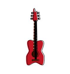 Eletric guitar isolated vector