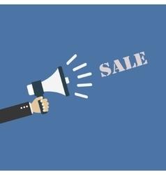 Megaphone Sale vector image