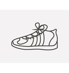 Tennis shoes design vector