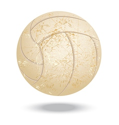volleyball-vintage vector image vector image