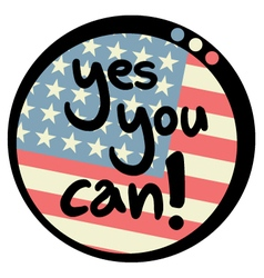 Yes you can message vector image vector image