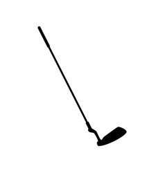 golf club stick vector image