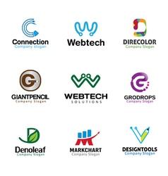 Letters Symbol Design vector image