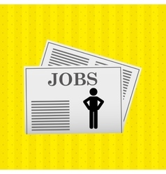 Jobs concept design vector