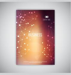 bbstract brochure design vector image vector image