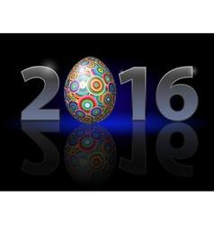 Easter in twenty-sixteen vector