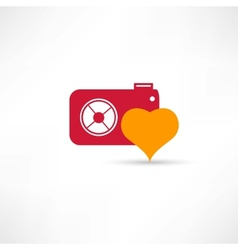 photograph to take pictures icon vector image vector image
