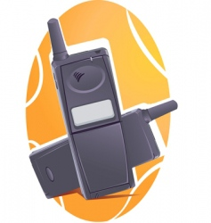 wireless phone vector image vector image