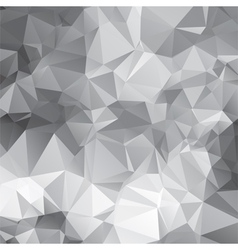 abstract triangular mosaic pattern vector image