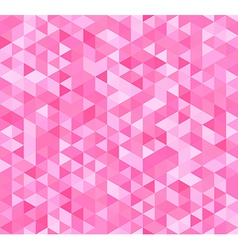 Colorful seamless pattern with triangles vector image