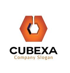 Cubexa design vector