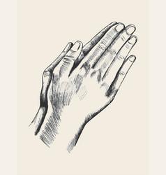 Praying vector