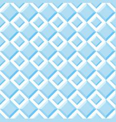 seamless pattern of blue diamonds vector image
