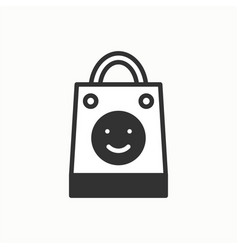 gift icon present shopping party celebration vector image
