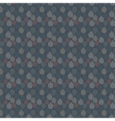 Seamless pattern on blue background vector