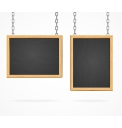 Black Board Sign vector image