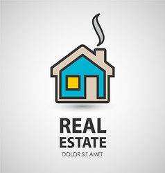 house icon Real estate vector image vector image