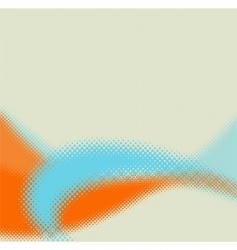 stylish halftone background vector image vector image