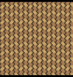 Woven wood pattern 2 vector image