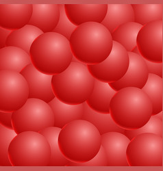 Abstract background with 3d balls spheric vector