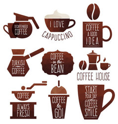 Coffee good idea vector