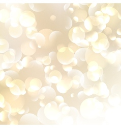 Golden Abstract Bokeh Background vector image