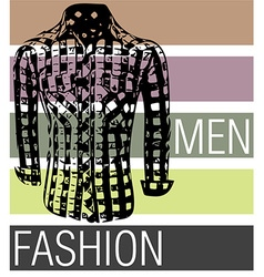 Men fashion shirts vector image vector image