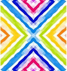 Seamless geometric pattern colorful polygonal vector